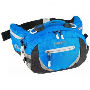 Abbey Outdoor-Gürteltasche Blau und Anthrazit 21QE-BAG-Uni Blau 8716404286743
