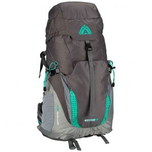 Abbey Outdoor-Rucksack Aero-Fit Sphere 50 L Anthrazit 21QH-AGG-Uni Grau 8716404286293