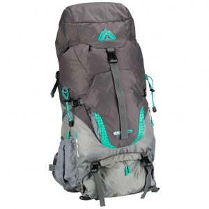 Abbey Outdoor-Rucksack Aero-Fit Sphere 60 L Anthrazit 21QI-AGG-Uni Grau 8716404286316