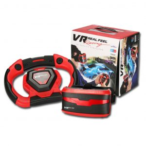 Gear2Play 3D Simulator Set VR Real Feel Racing Rot und Schwarz VR49400 Rot 0026753494002