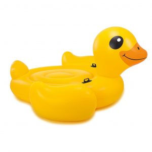 Intex Aufblasbare Badeinsel Mega Yellow Duck Island 56286EU Gelb 8718475699422