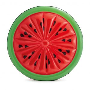 Intex Aufblasbare Badeinsel Watermelon Island 56283EU Rot 8718475699446