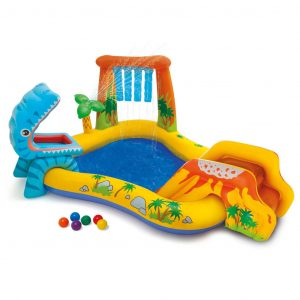 Intex Aufblasbarer Pool Dinosaur Play Center 249x191x109 cm 57444NP Mehrfarbig 8718475699323