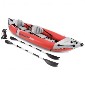 Intex Aufblasbares Kajak Excursion Pro 384 x 94 x 46 cm 68309NP Rot 8718475699590