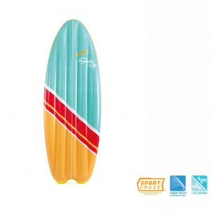 Intex Aufblasbares Surfboard-Set 2-tlg. Surf's Up Mats 178 x 69 cm Mehrfarbig 8718475699385