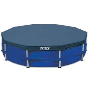Intex Poolplane Rund 366 cm 28031 Blau 8718475699170