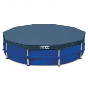 Intex Poolplane Rund 457 cm 28032 Blau 8718475699187