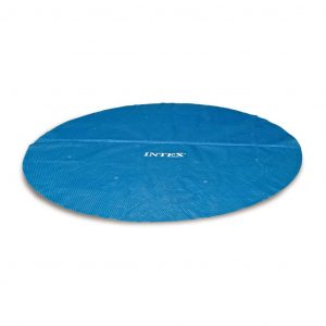 Intex Solarplane Poolplane Rund 366 cm 29022 Blau 8718475699200