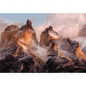 Komar Fototapete National Geographic Torres del Paine 254x184 cm 4-530 Mehrfarbig 4036834045302
