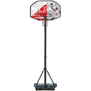 New Port Basketballständer Champion Shoot 140-213 cm 16NJ-ZWR-Uni Schwarz 8716404317423