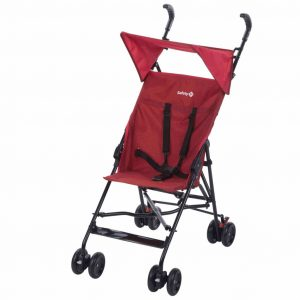 Safety 1st Buggy mit Verdeck Peps Rot 1182668000 Rot 3220660298723