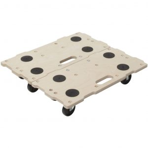 wolfcraft Möbel Dolly Modular Puzzle-Muster FT400 5543000 Beige 4006885554306