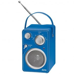 AEG Design-Radio Blau MR 4144  4015067006212