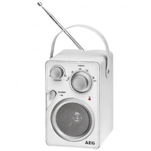 AEG Design Radio Weiß MR 4144  4015067000623