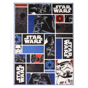 AK Sports Spielmatte Star Wars Icons 95x133 cm STAR WARS 01 Mehrfarbig 5414956231343