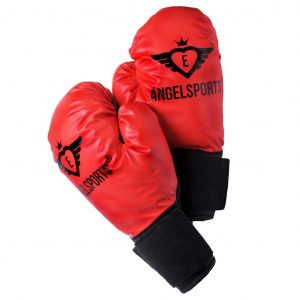 Angel Sports Boxhandschuhe 704012 Rot 8716096007053