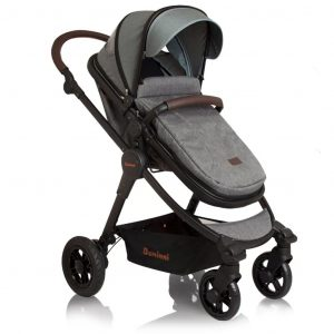 Baninni 3-in-1 Kinderwagen Ayo Limited Edition Grau BNST022-ISP Grau 5420038783945