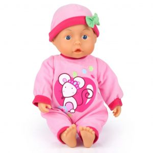 Bayer Babypuppe First Words 28 cm 92866AA Mehrfarbig 4003336928662