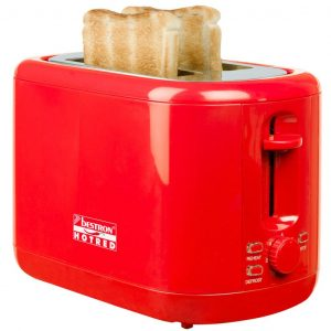 Bestron Toaster Hot Rot 930 W ATS300HR Rot 8712184049103