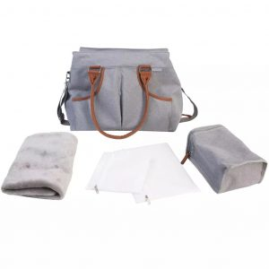 Bo Jungle B-Casual Wickeltasche Grau B300340 Grau 1703733003407