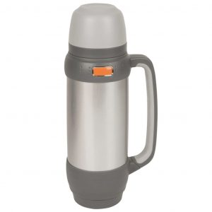 Camp Gear Isolierte Thermosflasche 1 L Edelstahl 7302524 Grau 8712013025247