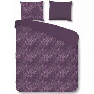 Descanso Bettwäsche-Set 9306-K Lila 140 × 200/220 cm Lila 8717285122335
