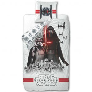 Disney Kinder-Bettwäsche-Set Star Wars Weiß 200 x 140 cm DEKB930119 Weiß 5055285389727
