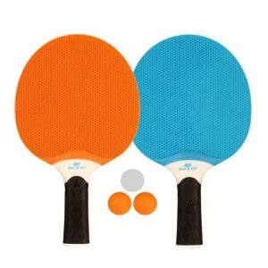 Get & Go Outdoor Tischtennis-Set Blau/Orange/Hellgrau 61UP Mehrfarbig 8716404274726