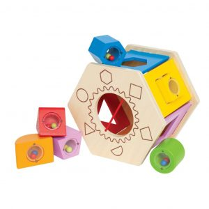 Hape Shake and Match Sortierbox E0407  6943478002548