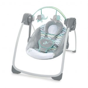 Ingenuity Babywippe Jungle Journey Grau K60674 Grau 0074451606746