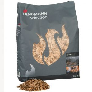 Landmann Räucherchips Whiskey Holz 500 g 16302 Braun 4000810163021