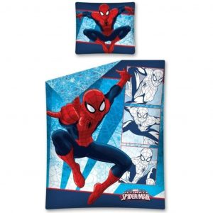 Marvel Bettwäsche-Set für Kinder Spider Man 200 x 140 cm DEKB106216 Blau 5901685620635