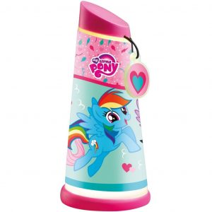 My Little Pony Neigbare Lampe 7 x 16 cm WORL920002 Rosa 5013138661772