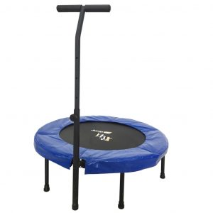 Orange Moovz Trampolin Jump Up Deluxe 98 cm OMT001 Blau 8719128641652