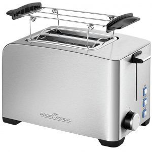"ProfiCook Toaster ""PC-TA 1082"" 850 W Silber Silber 4006160108217"