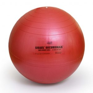 Sissel Gymnastikball Securemax 55 cm Rot SIS-160.011 Rot 4250694700250