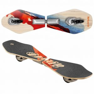 Street Surfing Waveboard Wave Rider Abstract 86 cm 03-12-002-2 Mehrfarbig 0813398021874