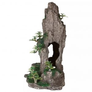TRIXIE Felsen mit Höhle Aquarium-Dekoration Polyester Resin 8858  4011905088587