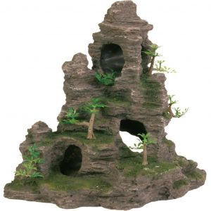 TRIXIE Felsen mit Höhle Aquarium-Dekoration Polyester Resin 8859  4011905088594