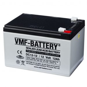 VMF AGM Deep Cycle Batterie 12 V 12 Ah DC12-12  8717545594056