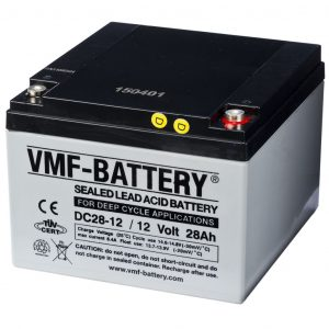 VMF AGM Deep Cycle Batterie 12 V 28 Ah DC28-12  8717545590560