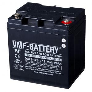 VMF AGM Deep Cycle Batterie 12 V 28 Ah DC28-12S  8717545594100