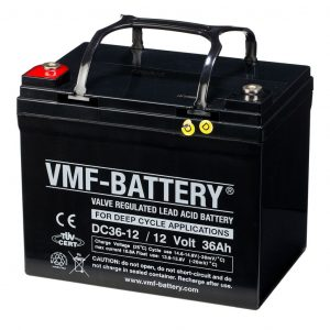 VMF AGM Deep Cycle Batterie 12 V 36 Ah DC36-12  8717545599099