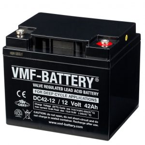 VMF AGM Deep Cycle Batterie 12 V 42 Ah DC42-12  8717545590607