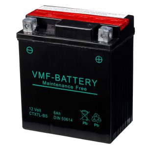 VMF Powersport Liquifix Batterie 12V 6Ah MF YTX7L-BS  8717545591765